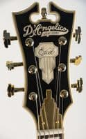 D'Angelico Excel DC Black Dog, with Case
